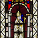 Lea, St Helen's church, window detail.