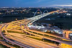 Crazy interchanges in Dallas
