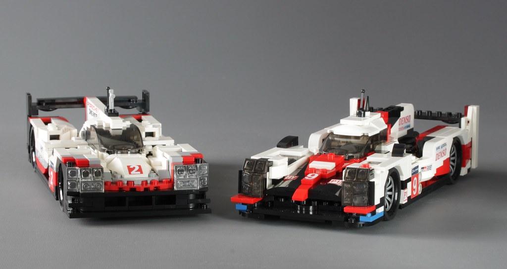 Le Mans 2017 LMP1 Hybrid race cars