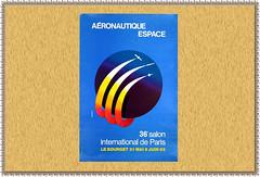 """1985.06 FRANCE - LE BOURGET - 36° Salon Aéronautique"""""""