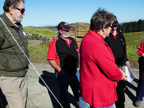 Planting day with NZMCA at Te Muri, NZ ~ 11 June 2017