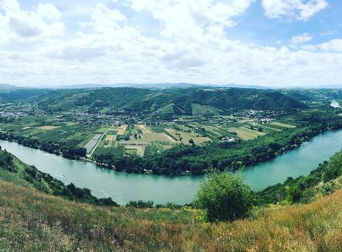 St-Jean-de-Muzols, heart of Saint-Joseph vineyards. #Rhône #nofilter