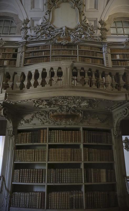 Library, Convent - Palácio Nacional de Mafra