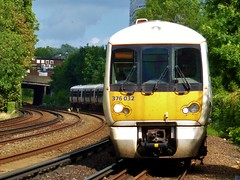 376032 and 376 number 028 Orpington to London Charing Cross 5Y56