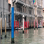 Mooring posts - Grand Canal