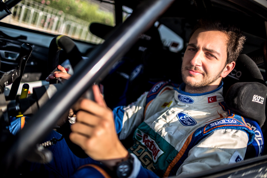 OZDEMIR Umitcan (tur) CASTROL FORD TEAM TÜRKIYE FORD FIESTA R2 ambiance portrait during the 2017 European Rally Championship ERC Cyprus Rally,  from june 16 to 18  at Nicosie, Cyprus - Photo Thomas Fenetre / DPPI