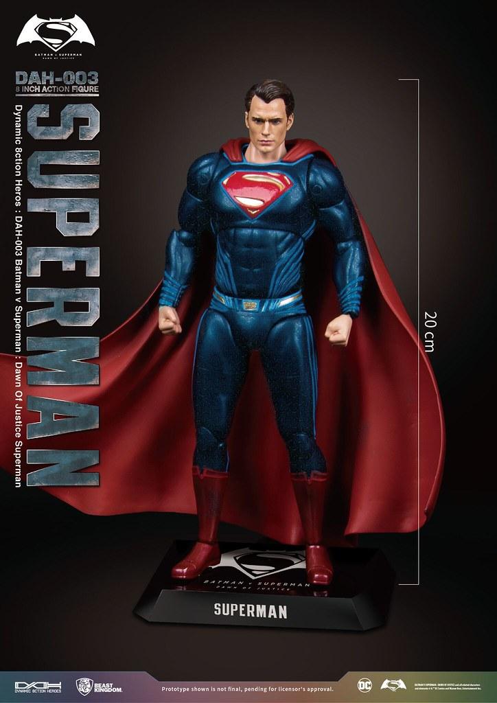 野獸國 究極英雄系列 DAH-003 蝙蝠俠對超人:正義曙光【超人】Batman v Superman: Dawn of Justice Superman