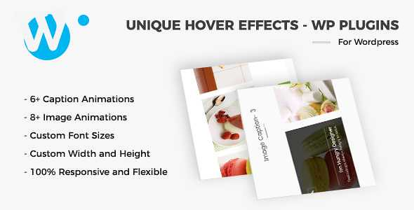 Unique Hover Effects WordPress Plugin free download