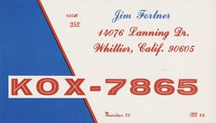 Jim Fortner - Whittier, California