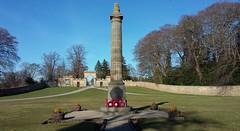 Fochabers War Memorial, Fochabers, Morayshire, March 2017