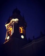 Qu� dir�a Dios, si amas sin la Iglesia y sin la ley? #igersperu #architecture #cathedral #religion #colonialism #thoughts #night