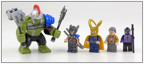LEGO Marvel Super Heroes 76088 Thor vs. Hulk Arena Clash 01