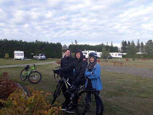 Ranfurly - ready to leave on the last day