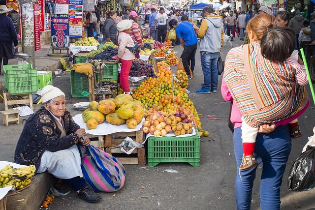El mercado...Huancayo