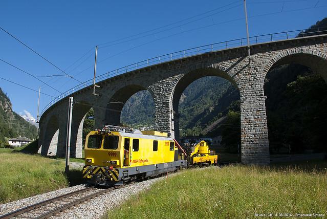 Xmf 4/4 9919 - Brusio (CH)