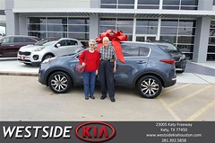 Happy Anniversary to Fred on your #Kia #Sportage from Rubel Chowdhury at Westside Kia!
