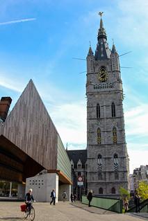 Het Belfort van Gent a 14th century bell tower