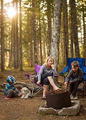Quintessential campfire life