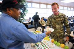 Army Birthday Cake at POM Dining Facility