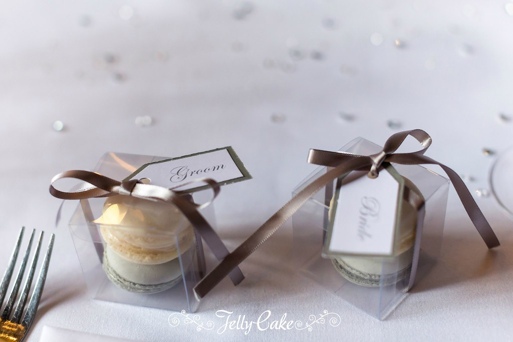 Macaron Wedding Favours I Also Made Macaron Favours In Van Flickr