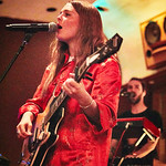 Tue, 09/05/2017 - 7:30pm - Maggie Rogers delights a room of WFUV members at Electric Lady Studios in New York City, 5/9/17. Hosted by Carmel Holt. Photo by Gus Philippas
