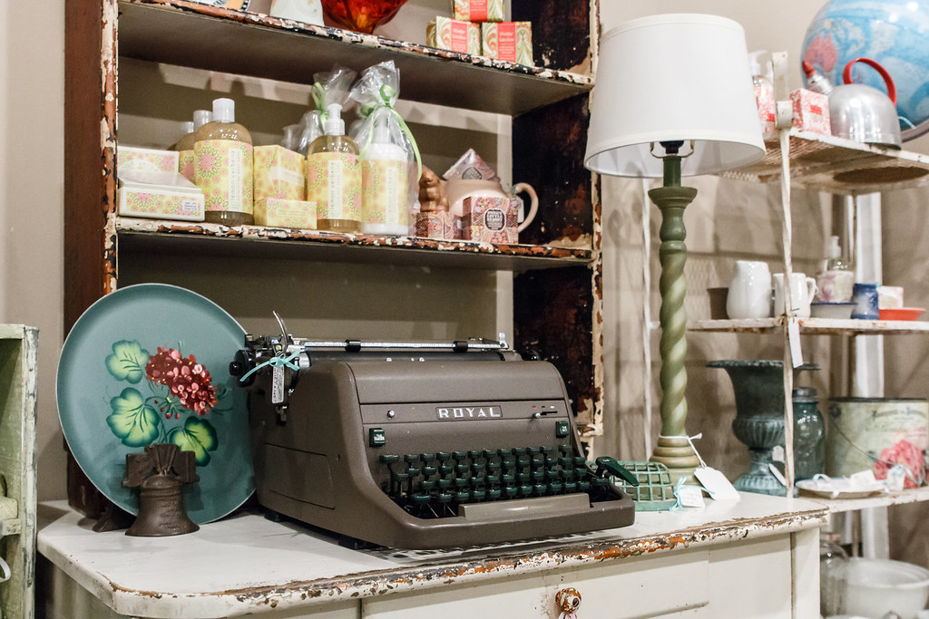 Adjectives Featured Finds in Winter Garden by The Rusty Gate Antiques and Vintage Chic