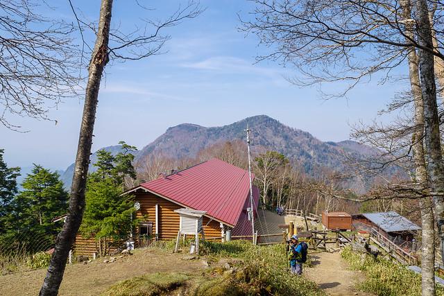 今日のお宿・・・雲取山荘