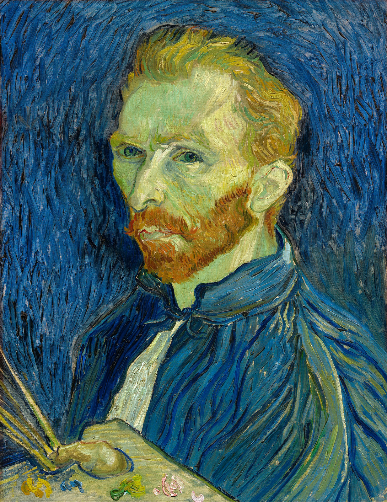 Vincent van Gogh Self-portrait, 1889