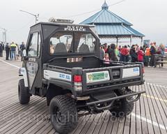 NYPD Precinct 122 Beach Patrol Utility Vehicle, South Beach Boardwalk, Staten Island, New York City