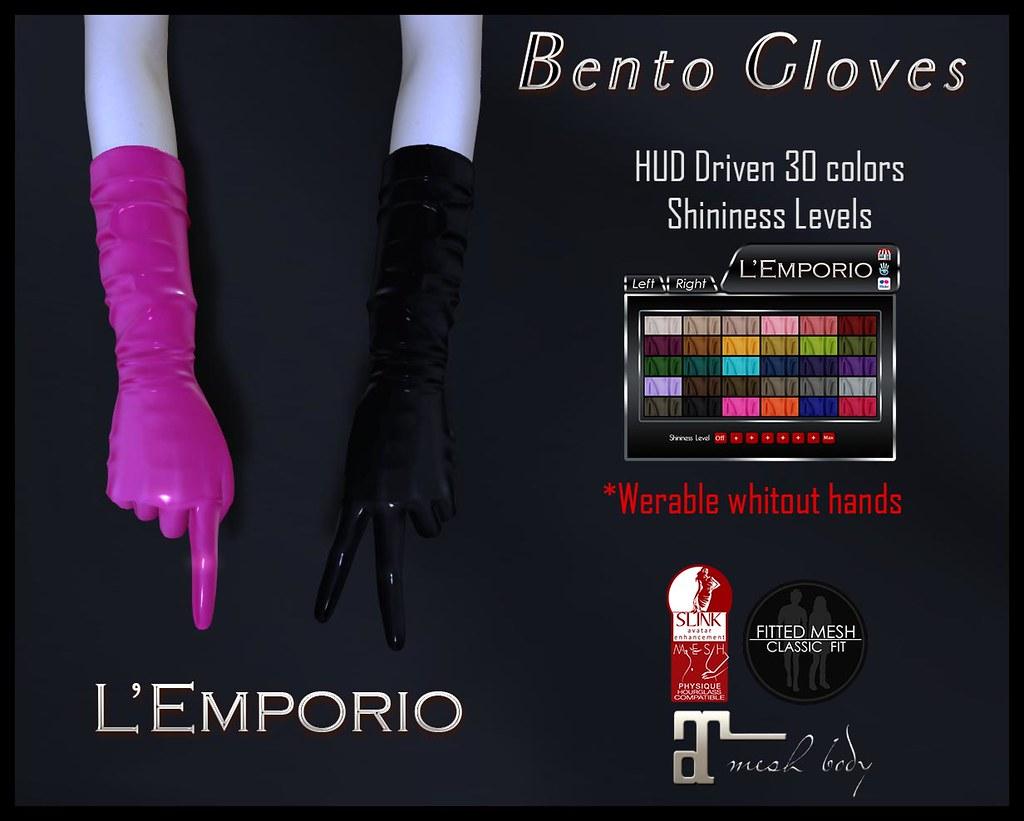 BENTO Gloves - SecondLifeHub.com