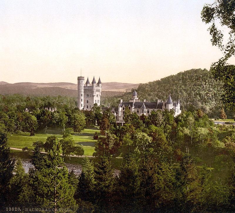 Balmoral Castle, Scotland. Late 19th century