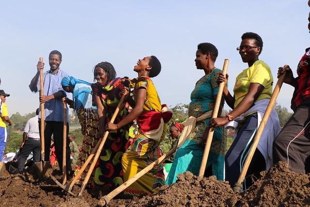 Launch of the Environment Week 2017: Umuganda at Nyandungu Wetland