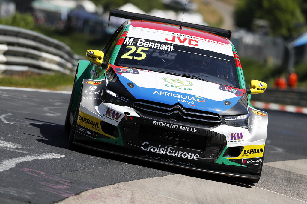 25 BENNANI Mehdi (mor), Citroen C-Elysee team Sébastien Loeb Racing, action during the 2017 FIA WTCC World Touring Car Race of Nurburgring, Germany from May 26 to 28 - Photo Clement Marin / DPPI