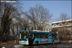 Irisbus Citélis 12 - Sémitag (Société d'Économie MIxte des Transports publics de l'Agglomération Grenobloise) / TAG (Transports de l'Agglomération Grenobloise) n°3122