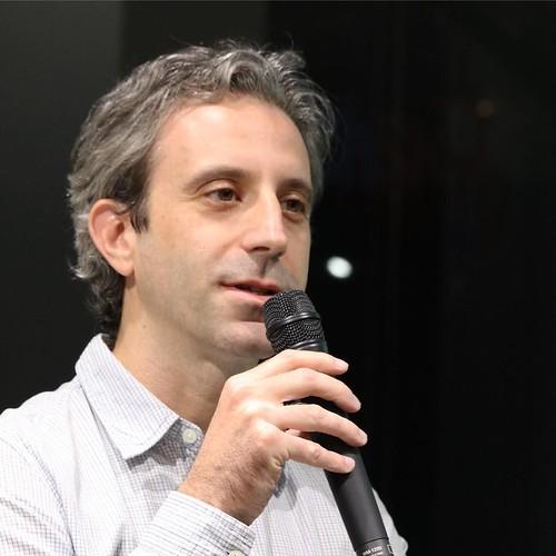 Jellop共同創設者のGil Shterzerさん。イスラエル出身の方。Kickstarterのクリエイター達の資金調達をサポート。