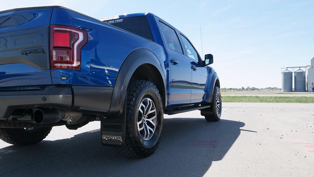 Blue F150 Raptor