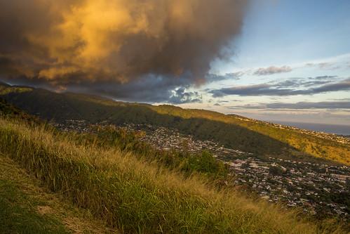 clouds sunset tantalus honolulu oahu hawaii travel canon ef2470mmf28liiusm