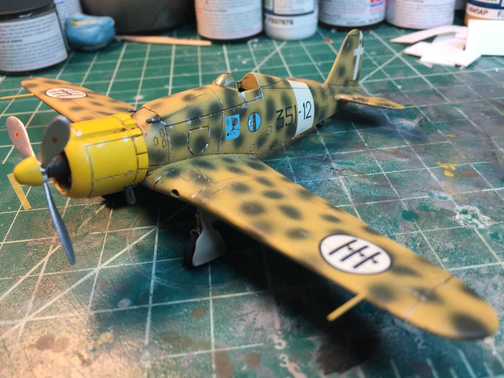 1/72 Airfix Fiat G.50