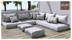 Santorini Couch Lounge CHEZ MOI