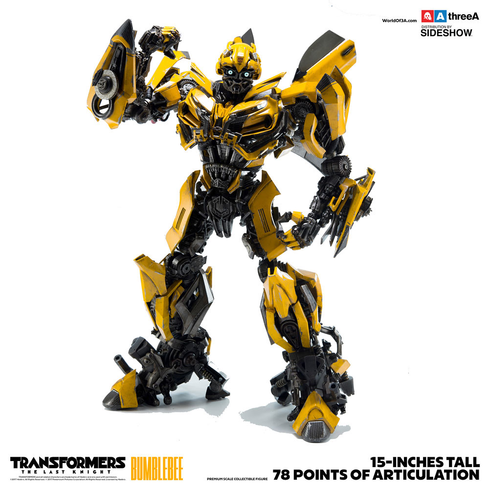 threeA 變形金剛5:最終騎士【大黃蜂】Transformers: The Last Knight Bumblebee