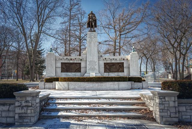 Memorial Park Monument (Oshawa, Ontario)