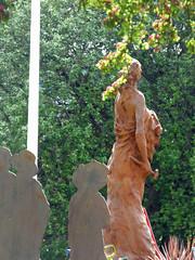 Mary Macarthur statue - Mary Macarthur Gardens, Cradley Heath