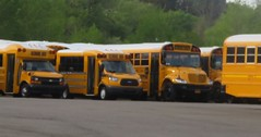 Scholastic Bus Corp. #128 and friends