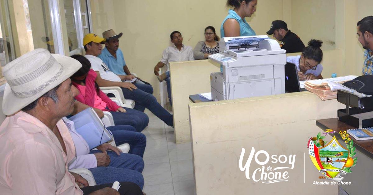 GAD Municipal de Chone y el MAGAP continúan con la Legalización de Tierras Rurales