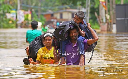 SRI-LANKA- FLOOD