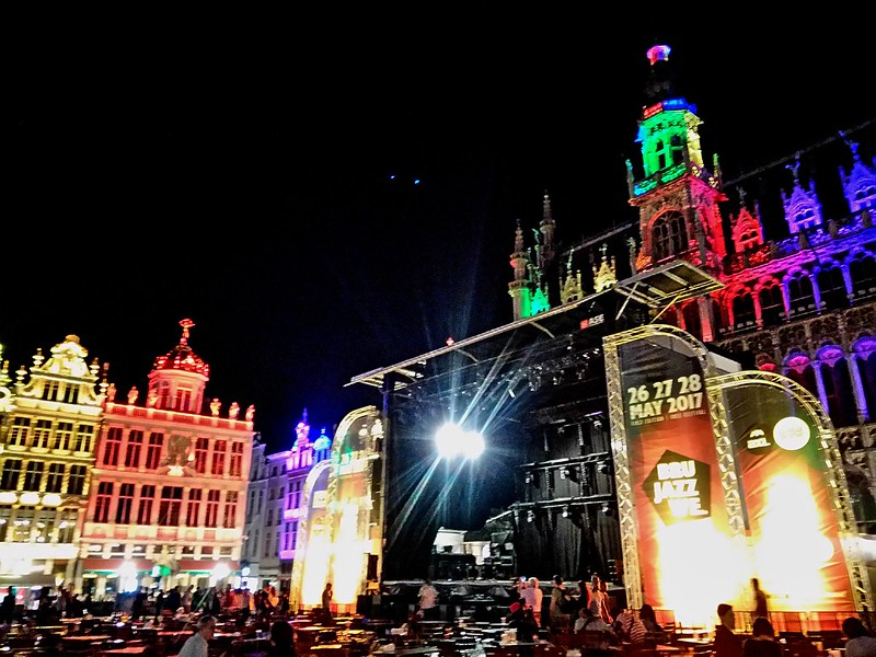 Brussel Jazz Weekend Grand Place (3)