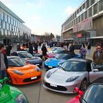 09.03.12: Teslatour zum Autosalon in Genf