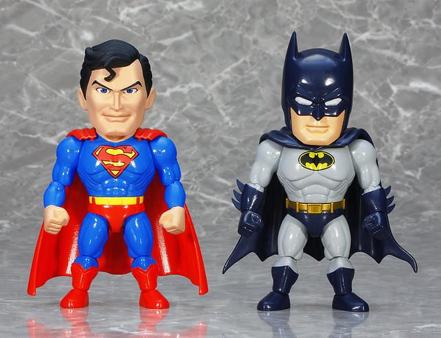 Art Storm ES合金 正義聯盟【超人&蝙蝠俠】ジャスティス・リーグ スーパーマン&バットマン