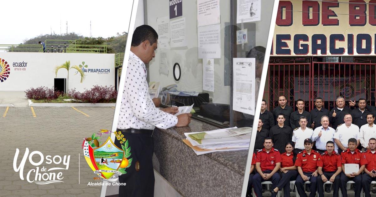 En Chone tres dependencias municipales se preparan para rendición de cuentas