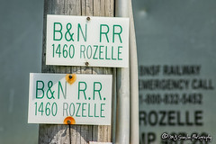BN Sign | BNSF Thayer South Subdivision
